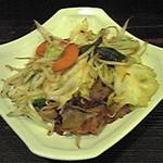 たっしぃ - 野菜炒め