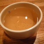 七つの海 - ほうじ茶です。 これもまた美味しかった。