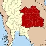 チャオタイ - イーサーン地方はラオスに隣接している。