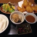 わか菜 - 白身魚フライ定食