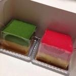 ミニワン - matsuzo ポテトのアンサンブル フランボワーズと抹茶