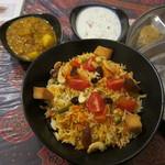南インド家庭料理 インダスレイ - ベジタブルプラウ
