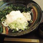 かんながら - 冷し山菜とろろうどん(714円)