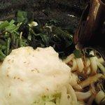 かんながら - 冷し山菜とろろうどん(714円)」