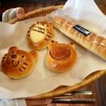 22501045 - かわいいキャラぱんで朝ご飯です(^^)