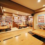 武士道 - ラーメン屋では珍しい、座敷でござる。
