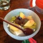 手ぬぐいカフェ 一花屋 - 杏仁豆腐
