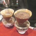 グリンホース - 1杯づつドリップで入れてくれる珈琲