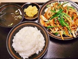 舞香 - 辛みそ定食