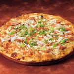 シェーキーズ - 『鮭とネギのピザ(麦味噌ソース)』11月の限定ピザです。