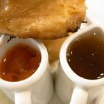 ステラ - フルーツソースと蜂蜜♪