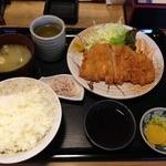 キッチンたうち - とんかつ定食@1480円