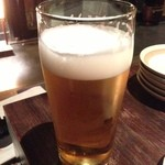 葱や平吉 - 生ビール690円