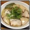 幸村 - 料理写真:白ゆきむら・チャーシューめん。 鶏白湯・醤油。 美味い。 チャーシューはトロトロ系。 溝の口なら並ぶレベル。 食後にコーヒーを淹れてくれました。