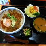 22507963 - 清須ワングランプリ出展料理・牛すじカレー丼