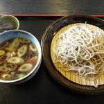 みよし - 料理写真:鴨汁せいろ