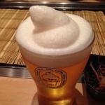 お好み焼 鉄板焼 つる次郎 - フローズンビール