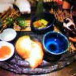 獅子丸 - 焼き野菜盛り合わせ