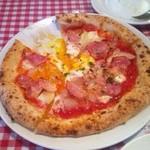 ポモドーロ フレスカ - 半熟たまごとモッツァレラのトマトピッツァ