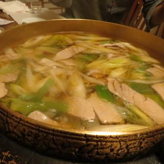 魚昌 - 料理写真:ネギマ鍋はお出汁が絶品っ!