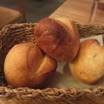 ラ コシーナ デル クアトロ - 自家製パン