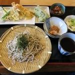 福一亭 - 料理写真:『天ざるそば』(1000円)