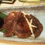 22514566 - 131114新潟 一家 津川産原木しいたけ素焼き480円