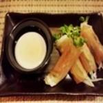 Dining くずし - 料理写真:生ハムサラダ
