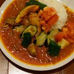 オカノカリー - 半日分野菜とスパイシーチキンカレー