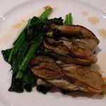 青海波 - 青海波 @松島温泉湯元松島一の坊 松島産牡蠣の鉄板焼き