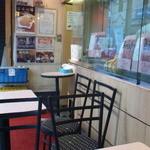 白川 - 店頭のテーブル席