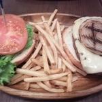 22520835 - チーズバーガーセット       ¥1170