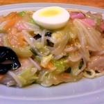 中華 喜楽 - 皿うどん(太麺)