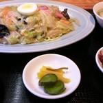 中華 喜楽 - 皿うどんセット:920円
