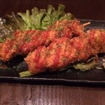 ハマトラ - 豚ヒレと玉ねぎの串カツ