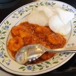 乾焼蝦仁(蝦のチリソース煮)