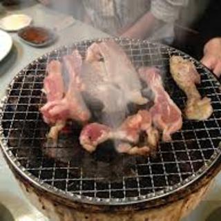 当店は七輪でじっくり焼く焼肉です。