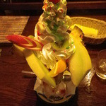 レストランST - きまぐれフルーツパフェ\630