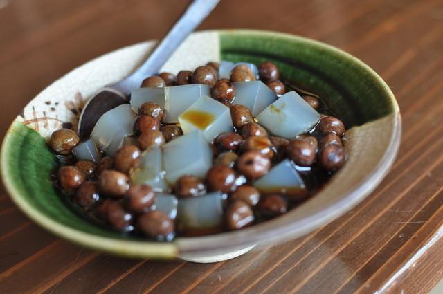 茶処 こ寿々 - 豆かん