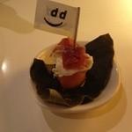 D&DEPARTMENT DINING  - 箕面ビールのオマケ、可愛いピンチョス