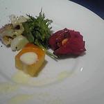 22529477 - イタリア前菜の盛り合わせ