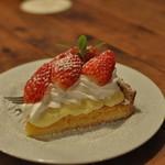 サウスカフェ - 季節のフルーツタルト 苺
