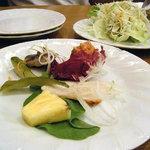 チムニー - パスタコースの前菜