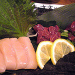 リッチマン - 鶏刺身3種盛り