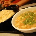 2253542 - 豚そばつけ麺¥750