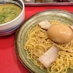 22530146 - つけ麺と煮玉子