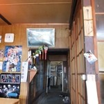 安田屋 - 店内はあまり広くなく、すぐお客さんでいっぱいになっちゃう☆