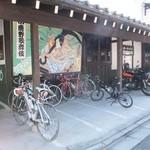 夢鹿蔵 - バイク専用駐輪場に=3=3=3