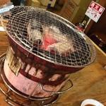 岩崎塾 - 炭焼き!