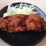 ラーメン横綱 - 唐揚(ランチタイム)200円(2013.11)